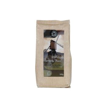 Infinity Organic Brwn Rice Flour 500g