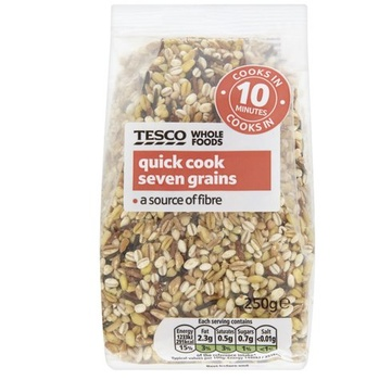Tesco Whole Food Quick Cook 7 Grains 250g