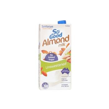 Sanitarium So Good Almond Milk Unsweetened 1ltr