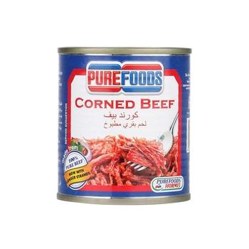 Pure Food Corned Beef (Halal) 210g