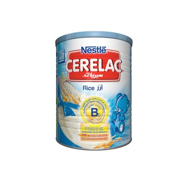 Nestle Cerelac Infant Cereal Baby Food Rice Tin Pack 400g
