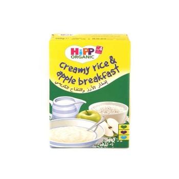 Hipp Baby Food Creamy Rice & Apple Breakfast