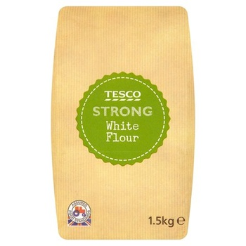 Tesco Strong White Bread Flour 1.5kg