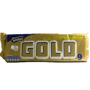 Mcvities Gold Crunchy Biscuit Bars 198g