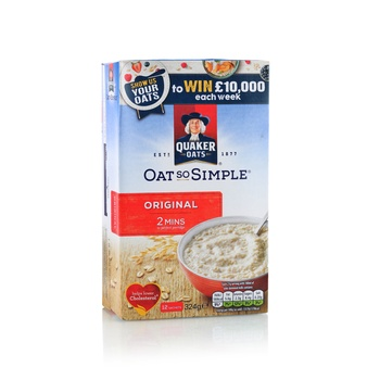 Quaker Oats So Simple Original 350g