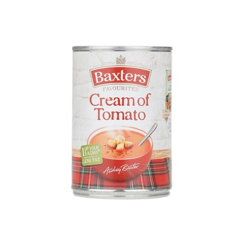 Baxters soup cream of tomato 400g