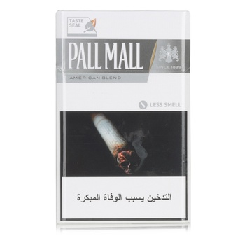 Pall Mall Cigarettes 4Mg Silver 20s