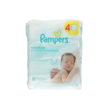 Pampers Wipes Sensitive 4X56 wipes