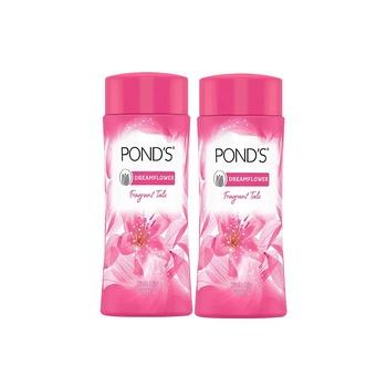 Pond's Dreamflower Fragrant Talc Powder 2x200g