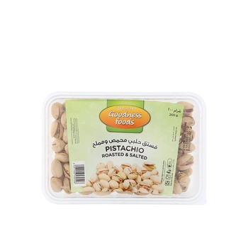 Goodness Foods Pista Roasted & Salted Special (B) 200g