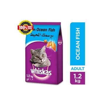 Whiskas Ocean Fish Dry Cat Food Adult 1+ years 1.2kg
