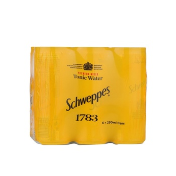 Schweppes Tonic Water Can 6 x 250ml