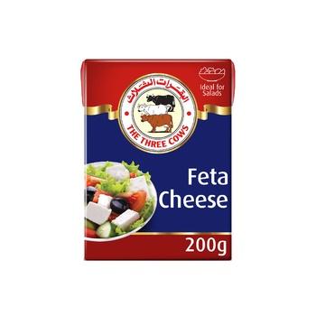 The Three Cows TTC Premium Feta Cheese 200g