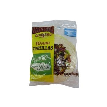 Old El Paso Flour Tortillas - Mini 250g