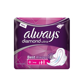 Always Ultra Diamond 8s