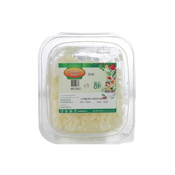 Goodness Foods Brown Onion Chopped 250g
