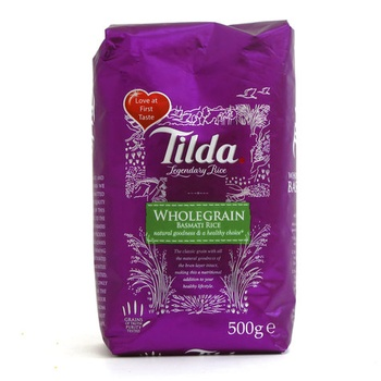 Tilda Wholegrain Basmati Rice 500g