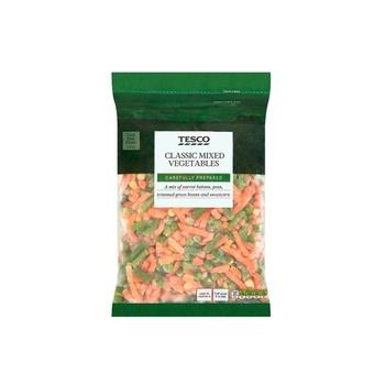 Tesco Mixed Vegetables 1kg