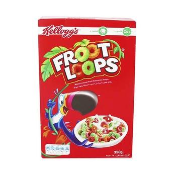 Kelloggs Froot Loops Rtce 375g