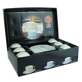 Tea Cup and Saucer Set 12 pcs