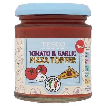 Tesco Tomato & Garlic Pizza Topper 170g