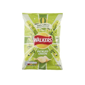 Walkers Chips Pickled Onion 32.5g