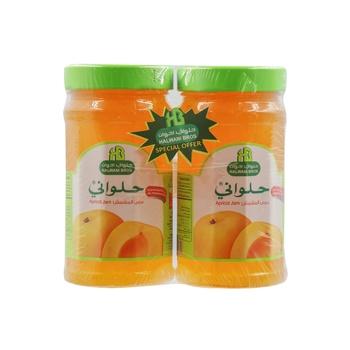 Halwani Jam Apricot 400g Pack of 2