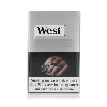 West Cigarettes Silver 20s