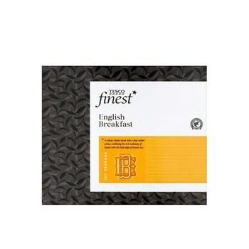 Tesco Finest English Breakfast 100 Tea Bag 250g