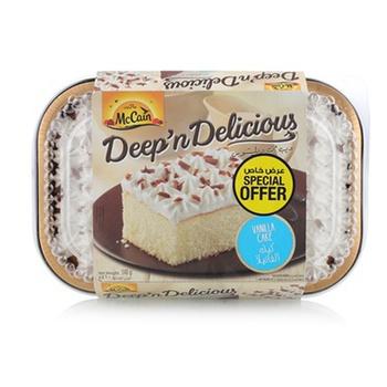 McCain Vanilla Cake 510g @ Special Price
