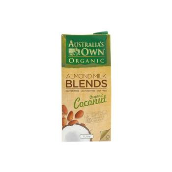 Australias Own Almond Milk Blends Organic Coconut 1ltr