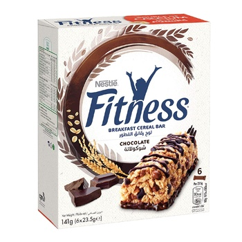 Nestle Fitness Choco Cereal Bar 6X23.5g