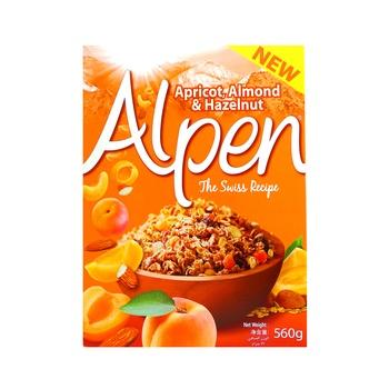 Alpen Cereal Muesli Apricot & Almond 560g