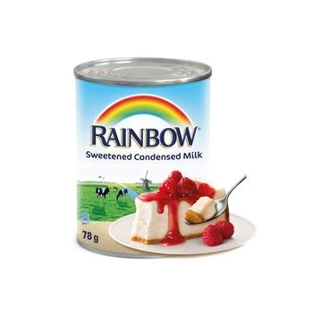 Rainbow Sweet Condensed Milk Portion 78g