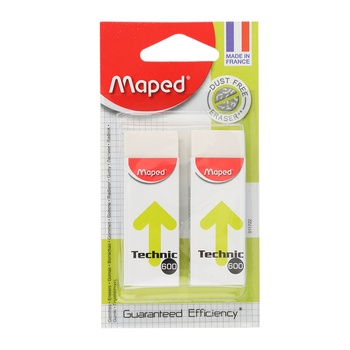 Maped Eraser Mini Soft- 2pcs pack