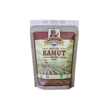 London Super Foods Organic Gluten Free Kamut Grains 500g