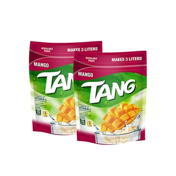 Tang Instant Drink Mango Flavor 375g Pack of 2
