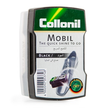 Collonil Mobil Shoe Polish Sponge - Black