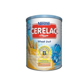 Nestle Cerelac Wheat with Milk Infant Cereal Tin Pack 400g