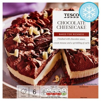 Tesco Chocolate Cheesecake 425g