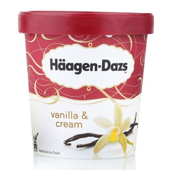 Haagen Dazs Vanilla&Cream 500Ml