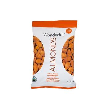 Wonderful Almonds Raw Natural 115g