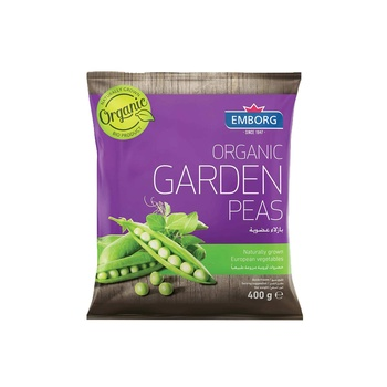 Emborg Organic Garden Peas 400g