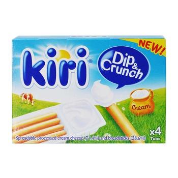 Kiri Dip & Crunch 140Gm - 25% Off