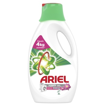 Ariel Power Gel Washing Detergent with Touch of Downy 2ltr