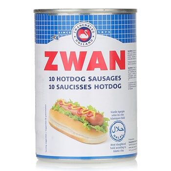 Zwan Meat Hotdog Sausages 400g