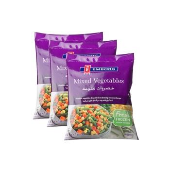 Emborg Mixed Vegetable 450g 3 Pack