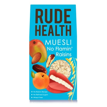 Rude Health No Flamin' Raisins Muesli 500g