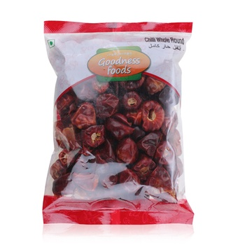 Goodness Foods Chilli Whole-Round 100g