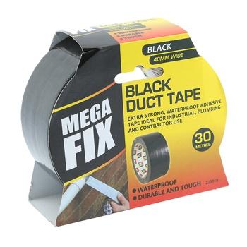 Maxifix Black Duct Tape
